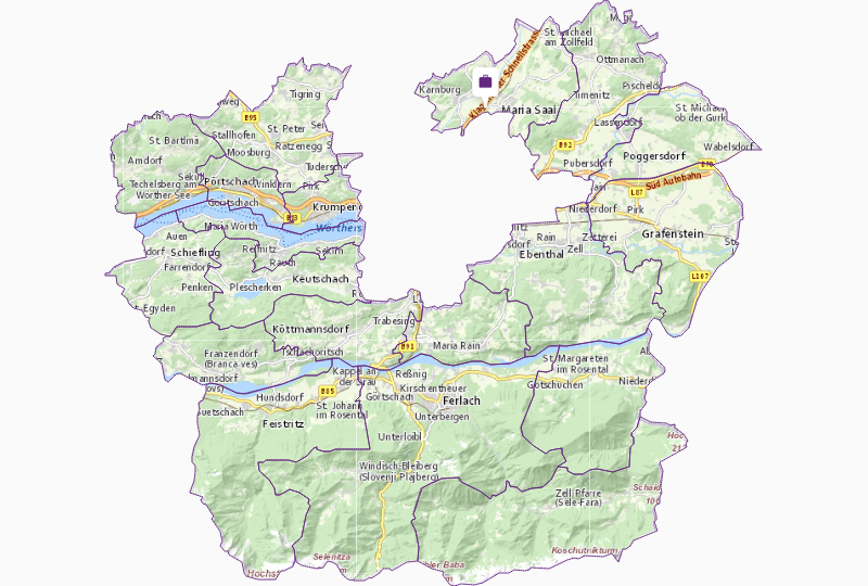 Lobbying & government in Klagenfurt County