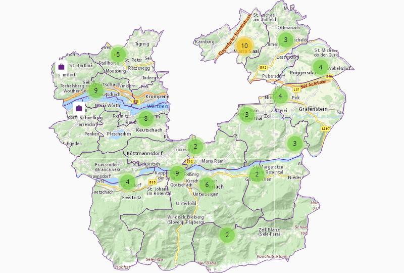 Land & Forst in Klagenfurt Land