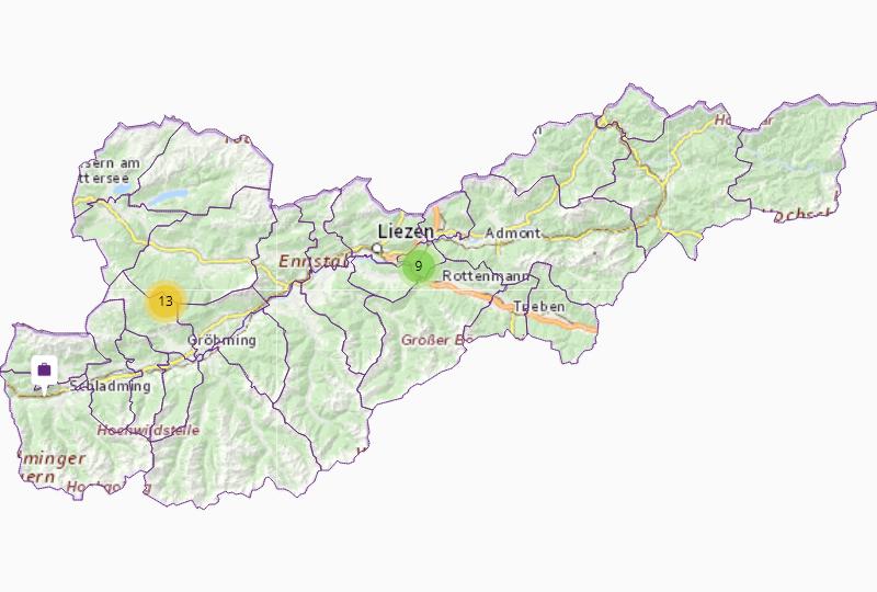Base materials in Liezen