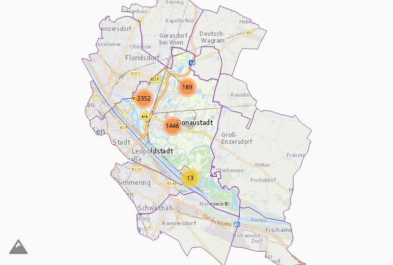 Companies in Wien 22.,Donaustadt