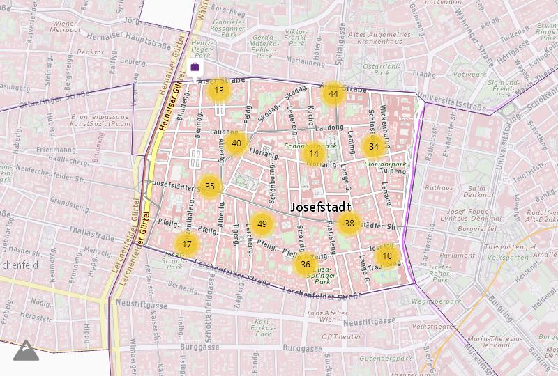 Финансы и недвижимость в Wien  8.,Josefstadt