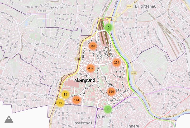 Услуги и поддержка в Wien  9.,Alsergrund