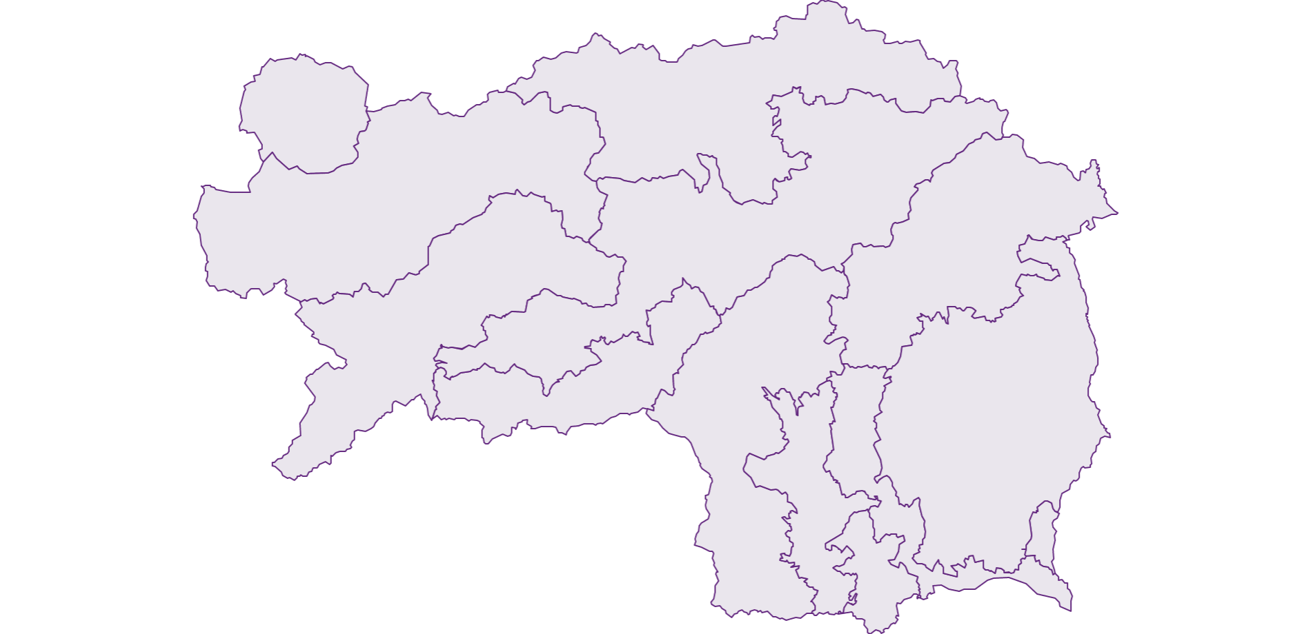 Styria - Federal State - Austria - Geography, business and economics, statistics | Similio