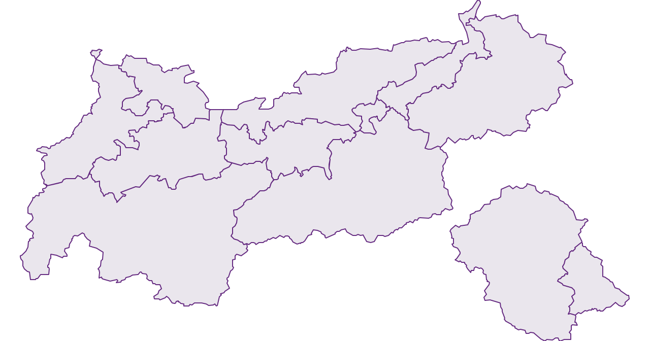 Tyrol - Federal State - Austria - Geography, business and economics, statistics | Similio