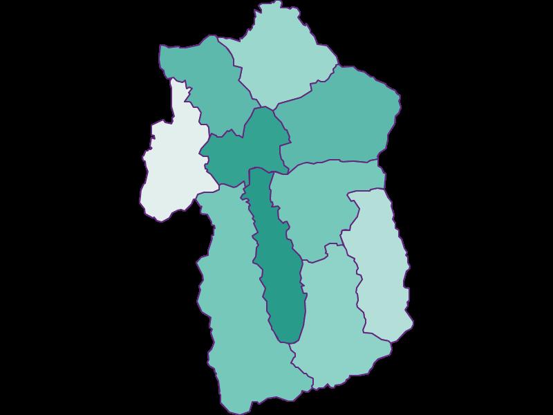Прирост населения за 1869-2018   Эннспонгау