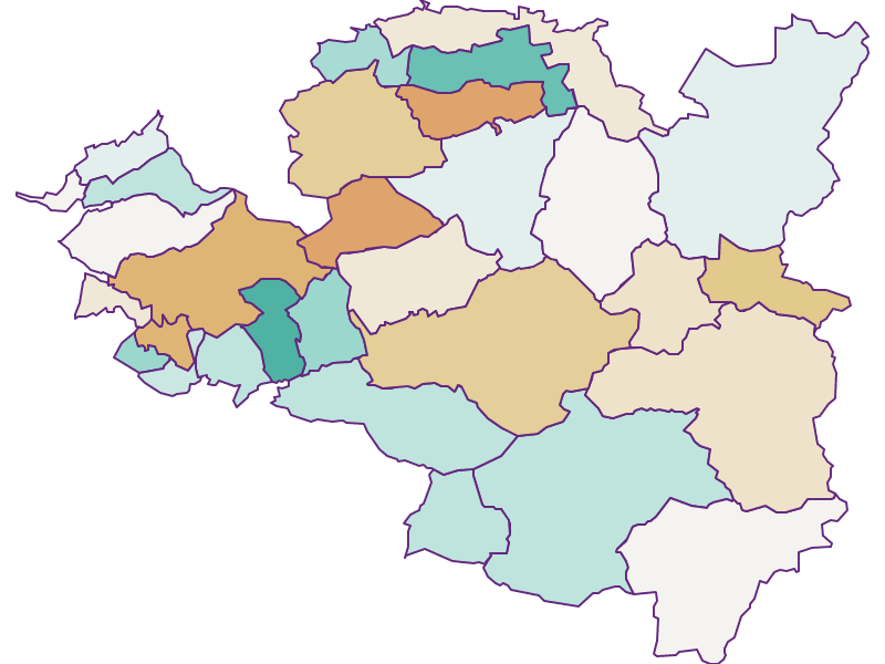 Прирост населения за 2011-2018   Верхний Брегенцервальд