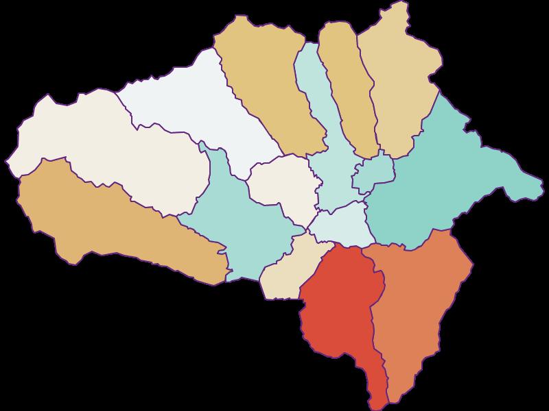 Прирост населения за 1869-2018 | Лунгау