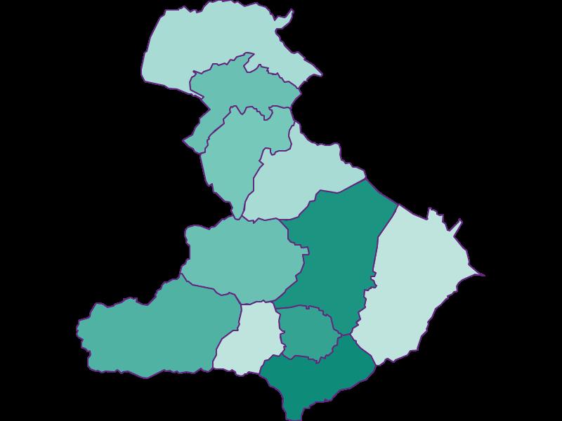 Прирост населения за 1869-2018 | Миттерпинцгау
