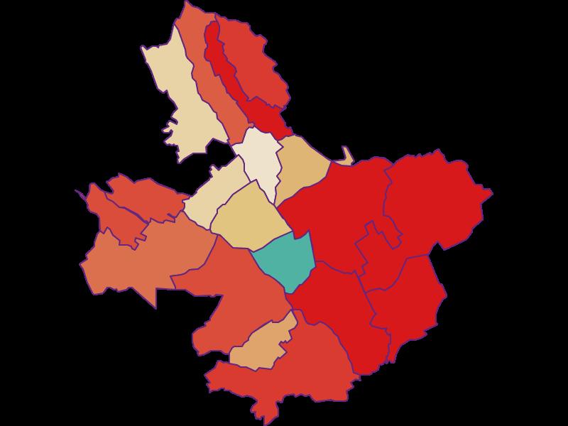 Прирост населения за 1900-2018   Оберпульлендорфский бассейн