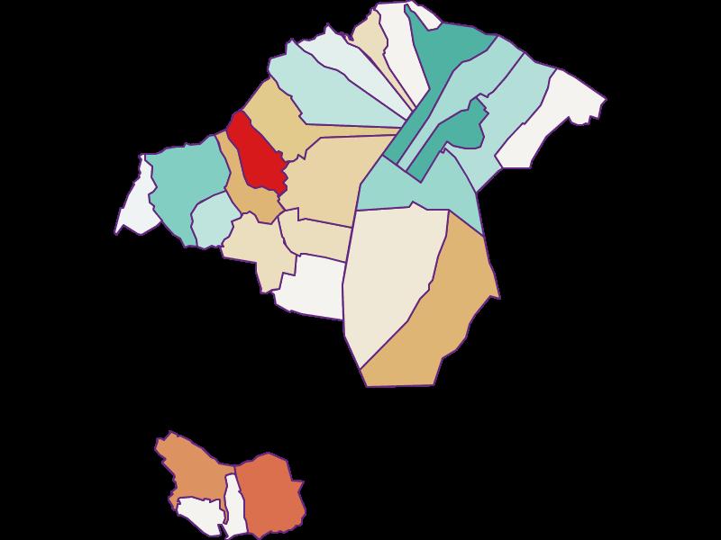 Прирост населения за 1900-2018 | винодельческий регион озера Нойзидль