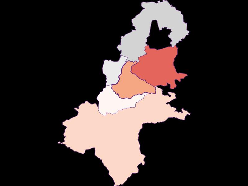 Activity rate in Allhartsberg