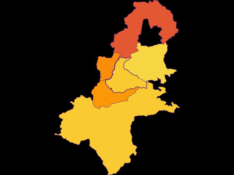 Плотность населения в Allhartsberg