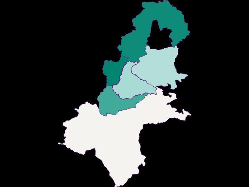 Population development since 1869 in Allhartsberg