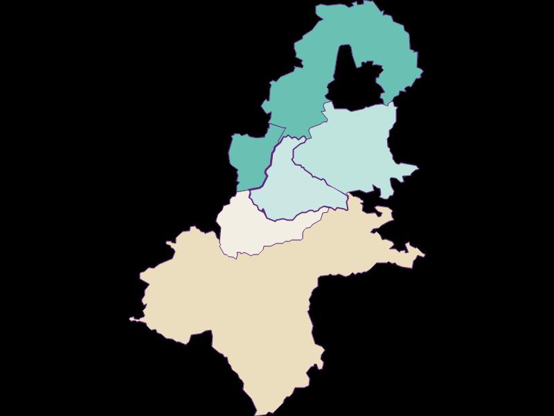 Population development since 1900 in Allhartsberg