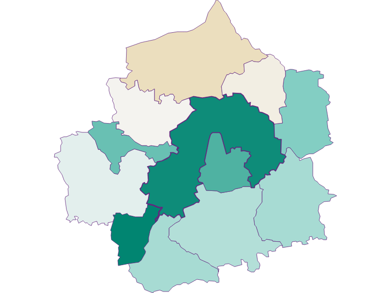 Демография с 1869 года в Amstetten