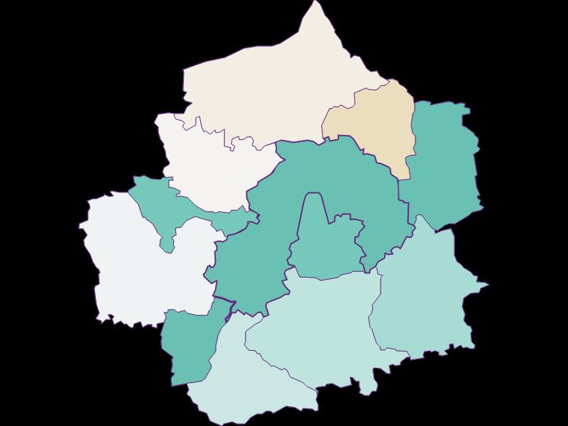 Демография с 1900 года в Amstetten