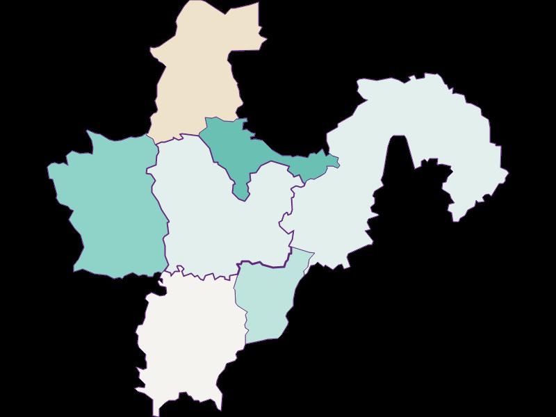 Population development since 2011 in Aschbach-Markt