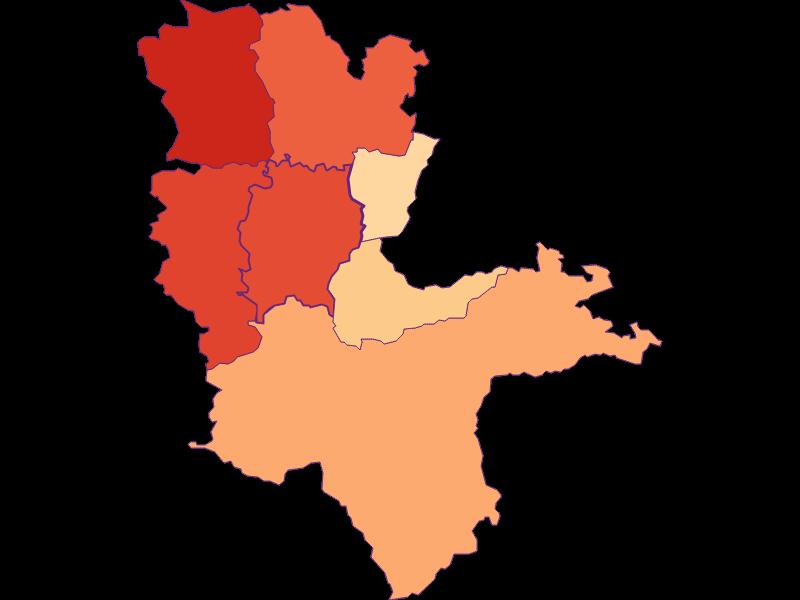 Размер домохозяйства в Biberbach
