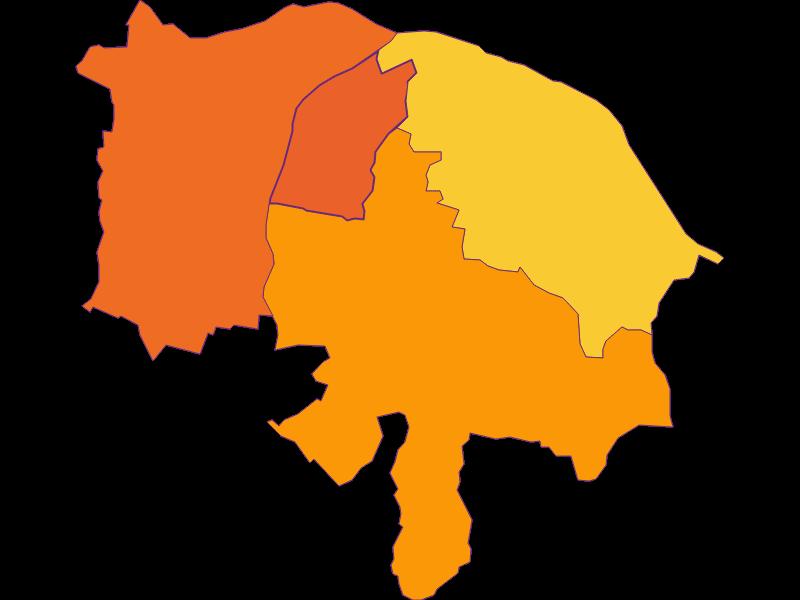 Плотность населения в Ennsdorf