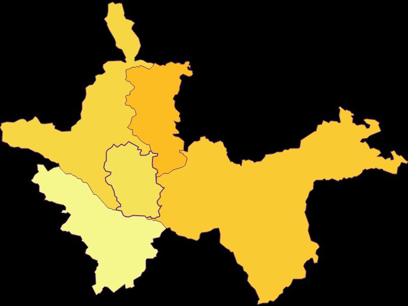 Плотность населения в Ertl