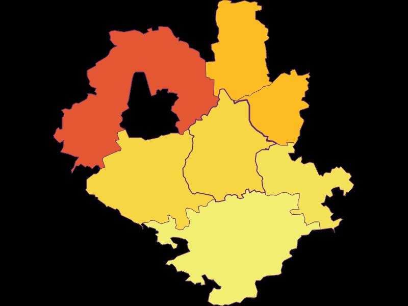 Population density in Euratsfeld