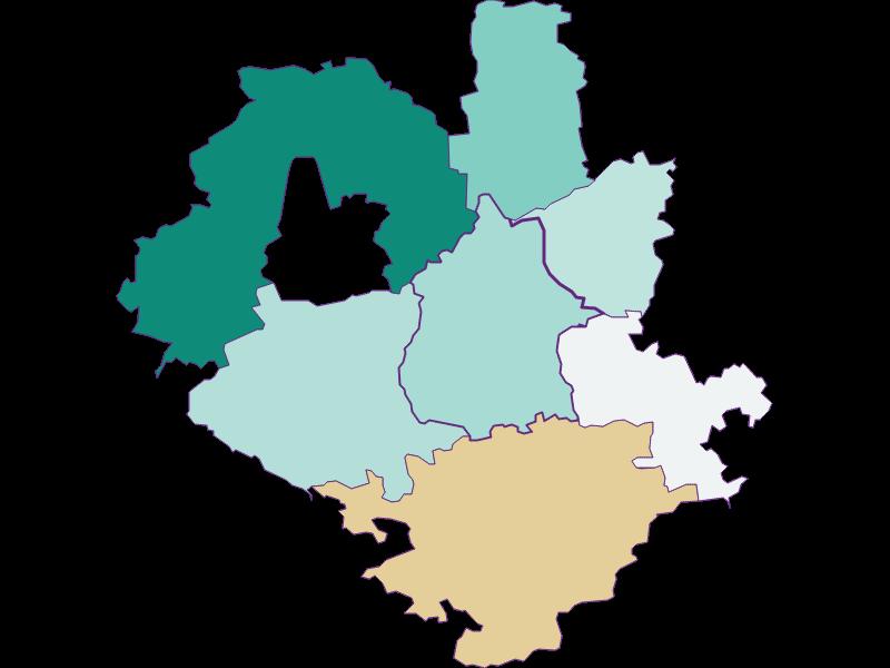Population development since 1869 in Euratsfeld