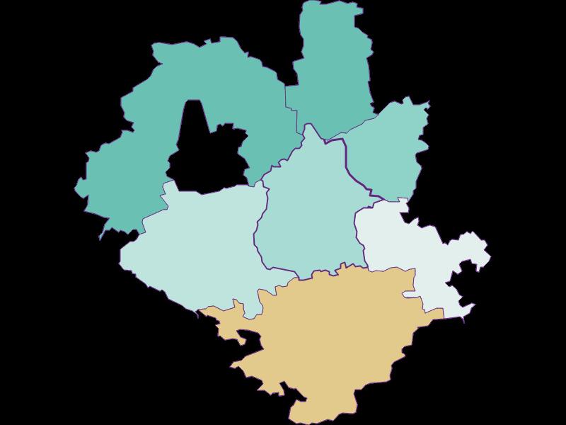 Population development since 1900 in Euratsfeld