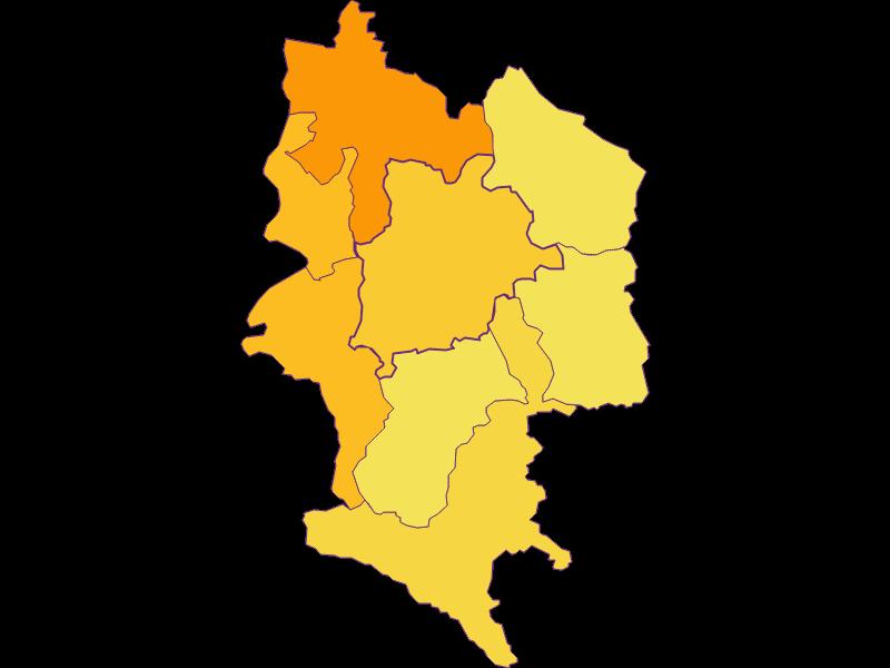 Population density in Haag