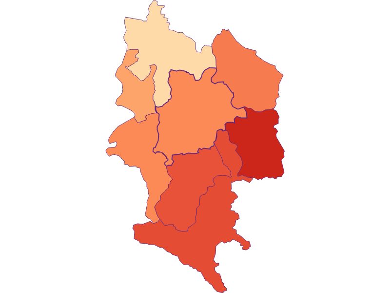 Household size in Haag