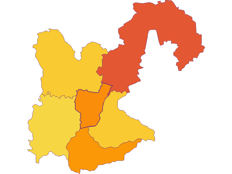 Population density in Kematen an der Ybbs