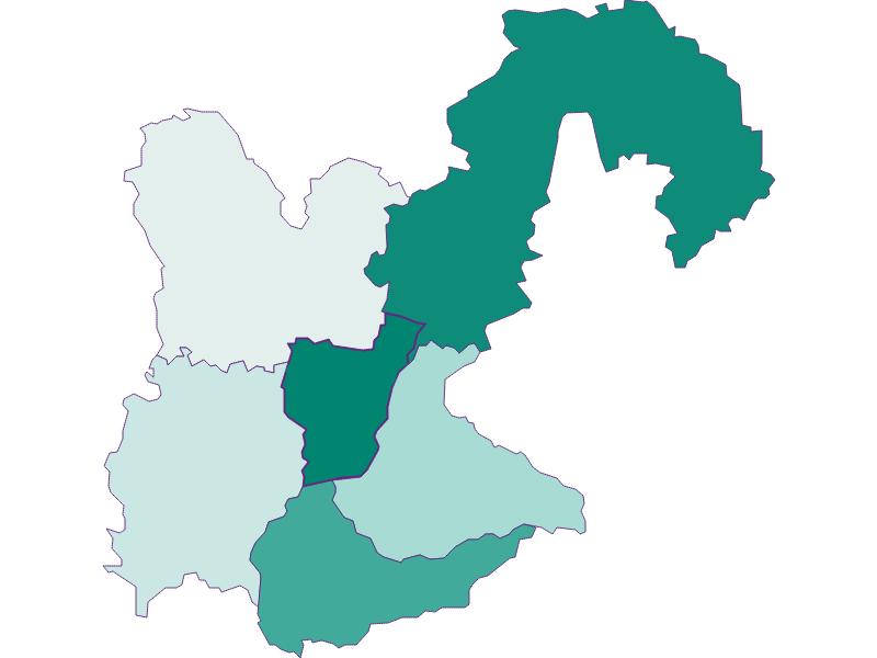 Population development since 1869 in Kematen an der Ybbs