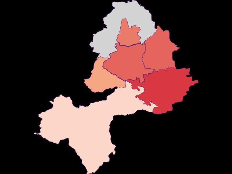 Activity rate in Neuhofen an der Ybbs