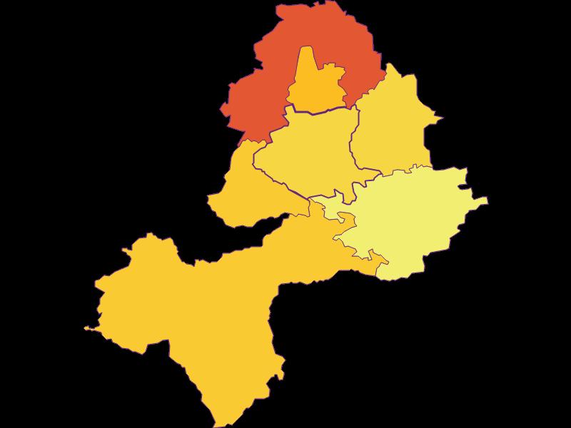 Population density in Neuhofen an der Ybbs