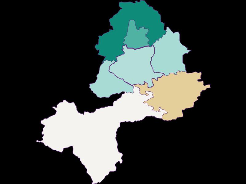 Population development since 1869 in Neuhofen an der Ybbs