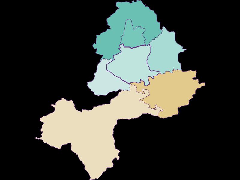 Population development since 1900 in Neuhofen an der Ybbs