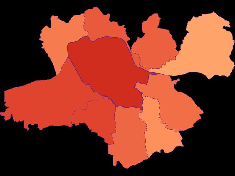 Размер домохозяйства в Neustadtl an der Donau