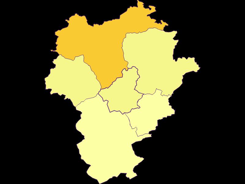 Плотность населения в Opponitz