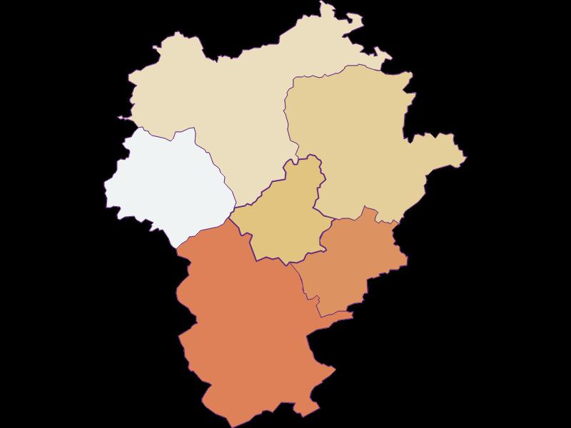 Демография с 1900 года в Opponitz