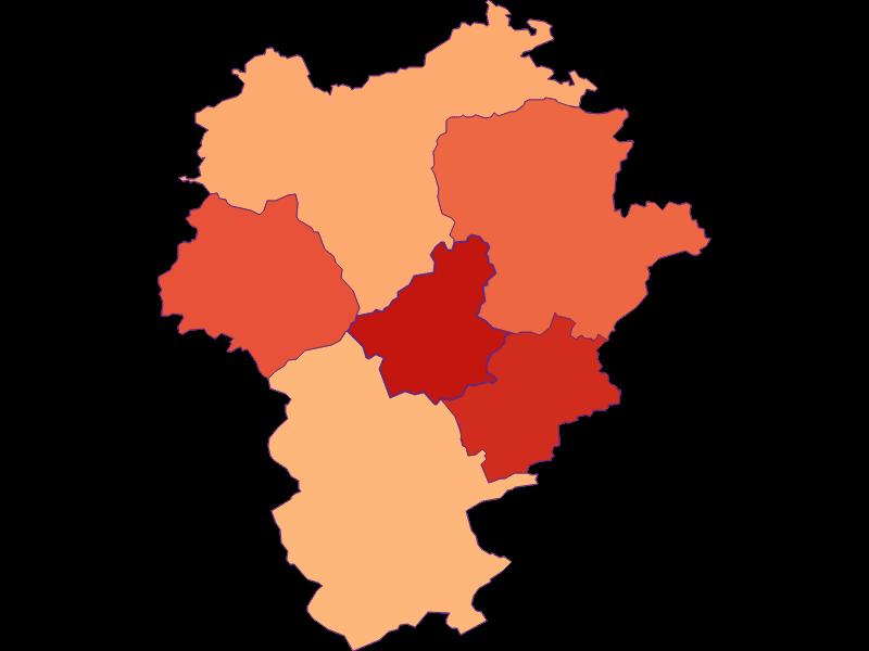 Размер домохозяйства в Opponitz