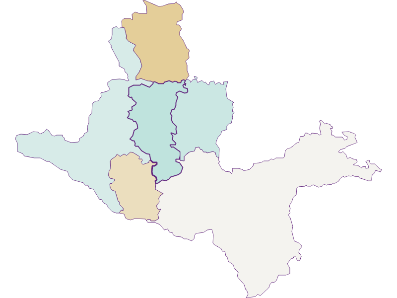 Population development since 1869 in Seitenstetten