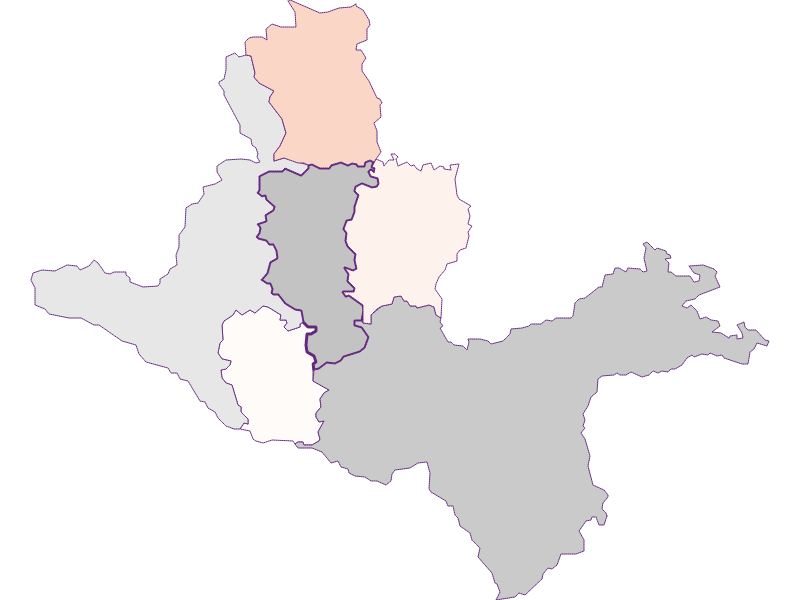 Farmers (comparison to federal state) in Seitenstetten