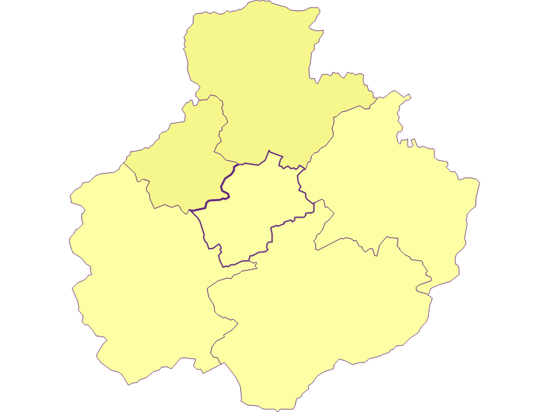 Плотность населения в St. Georgen am Reith