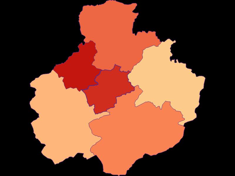 Размер домохозяйства в St. Georgen am Reith