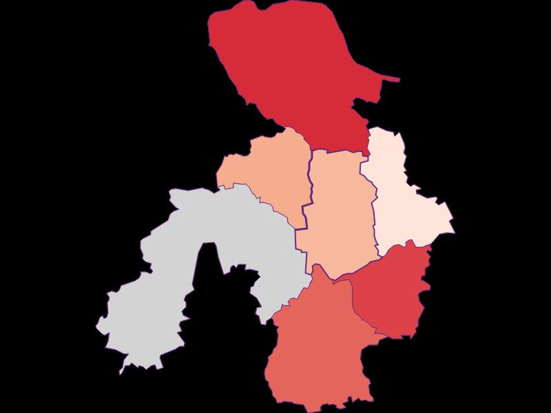 Activity rate in St. Georgen am Ybbsfelde