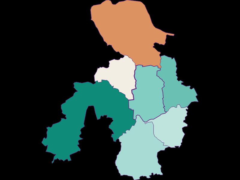 Population development since 1869 in St. Georgen am Ybbsfelde
