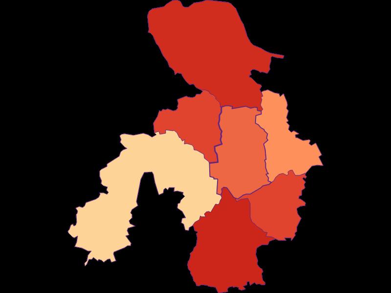 Household size in St. Georgen am Ybbsfelde
