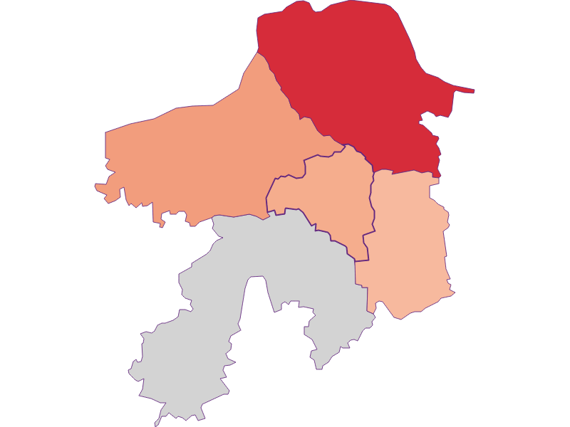 Bevölkerungsaktivität in Viehdorf