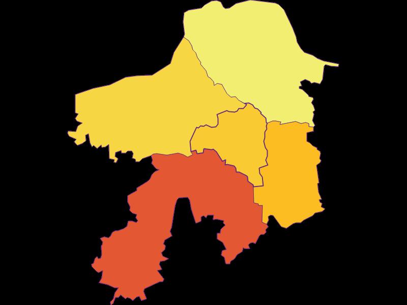 Bevölkerungsdichte in Viehdorf