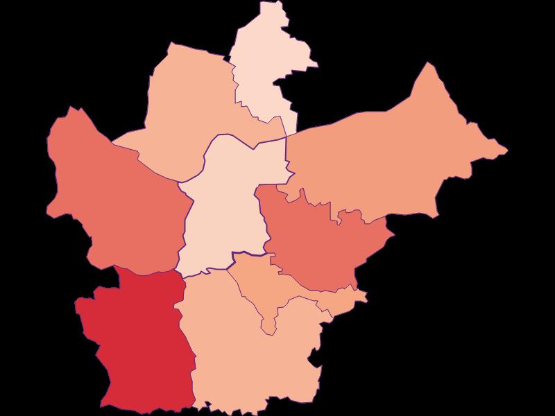 Занятость в Wallsee-Sindelburg