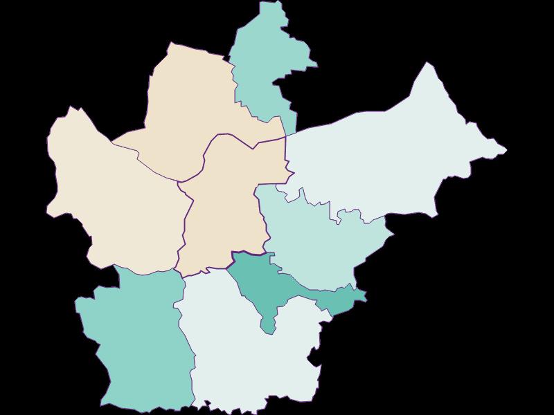 Демография с 2011 года в Wallsee-Sindelburg